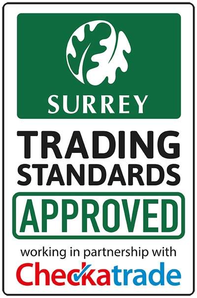 Surrey Trading Standards & Check-A-Trade approved contractor
